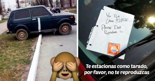 Graciosas venganzas contra las personas que no se saben estacionar