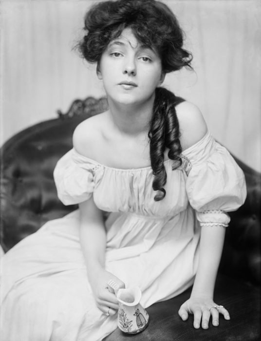 Evelyn Nesbit chica it girl de principios del siglo XX