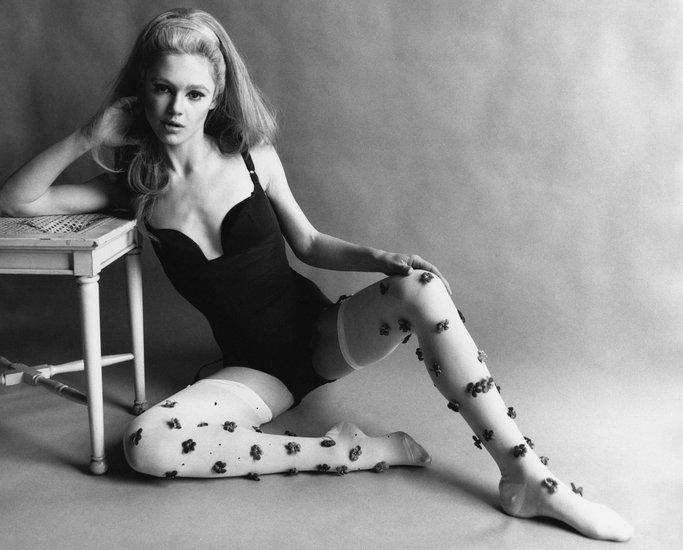 Edie Sedgwick famosa modelo e it girl