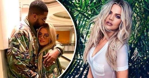 Khloé Kardashian espera a su primer hijo con su novio Tristan Thompson