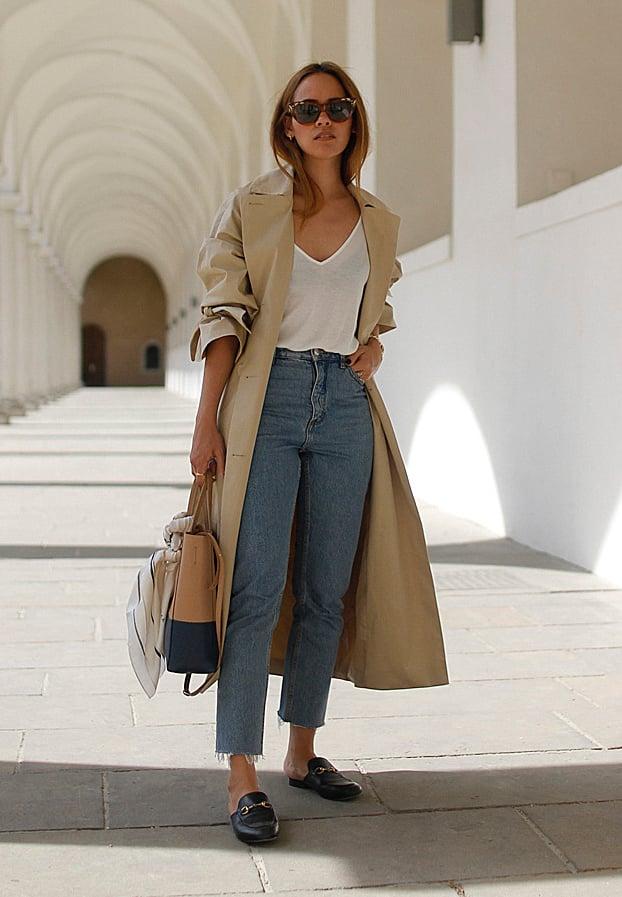 22 Looks para vestir con unos mocasines y lucir fantástica