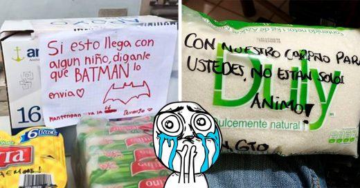 15 Mensajes de apoyo que solo los mexicanos pueden dar en momentos trágicos; recobrarás la fe en la humanidad