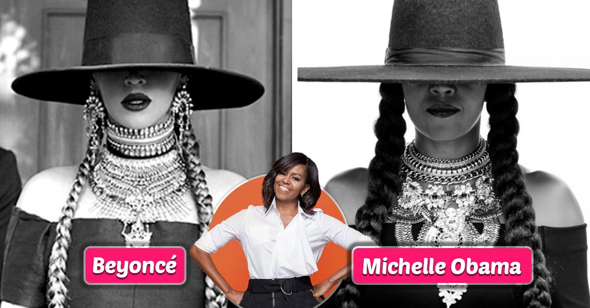 Solo Michelle Obama puede vestirse como Beyoncé y lucir perfecta
