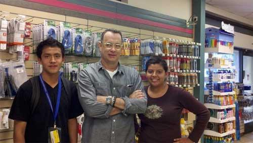 amigos en el supermercado