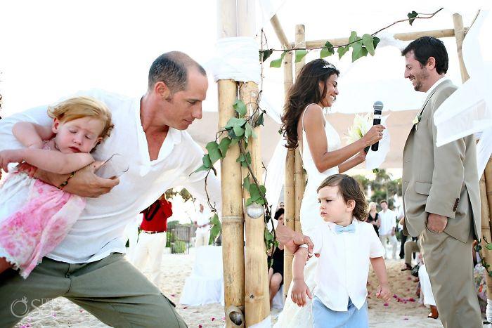Niños que odian las bodas