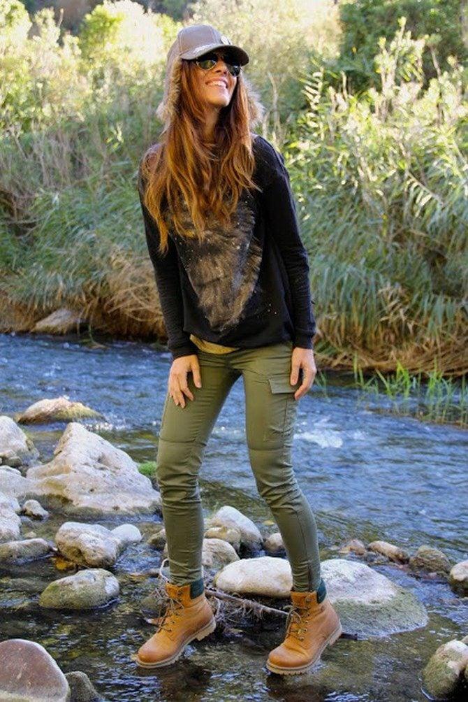 15 Increíbles outfits para combinar tus botas timberland