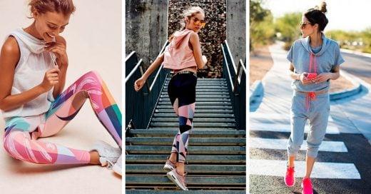 22 Outfits de ropa sport con la que lucirás espectacular mientras quemas calorías
