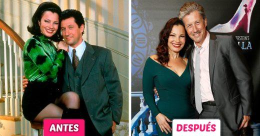 Parejas idealesde series de los 90 antes y después de su último capítulo