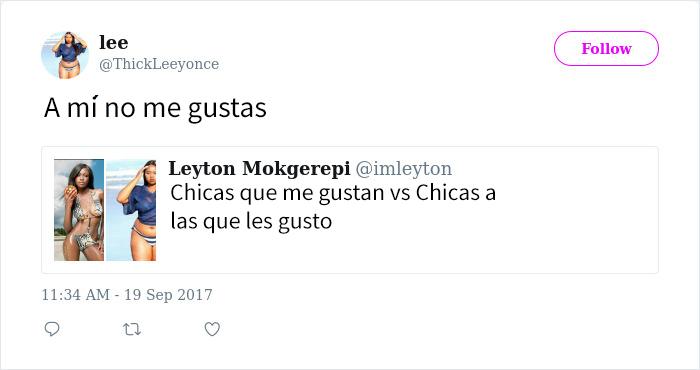 contestación de tuit