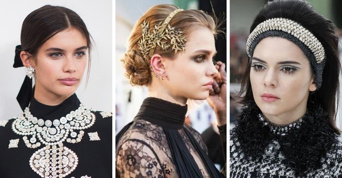 15 Peinados y accesorios que son tendencia otoño invierno 2017