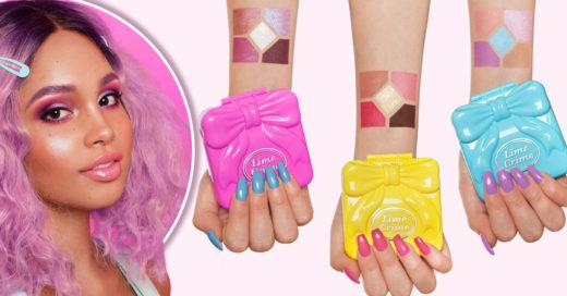Esta línea de belleza se inspiró en Polly Pocket para crear la mejor paleta de colores