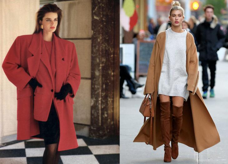 Moda de los años 80 vs moda actual