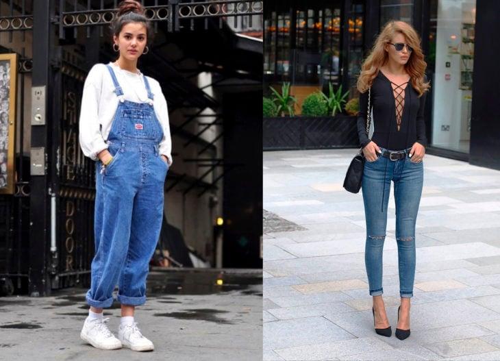 Moda de antes vs moda actual