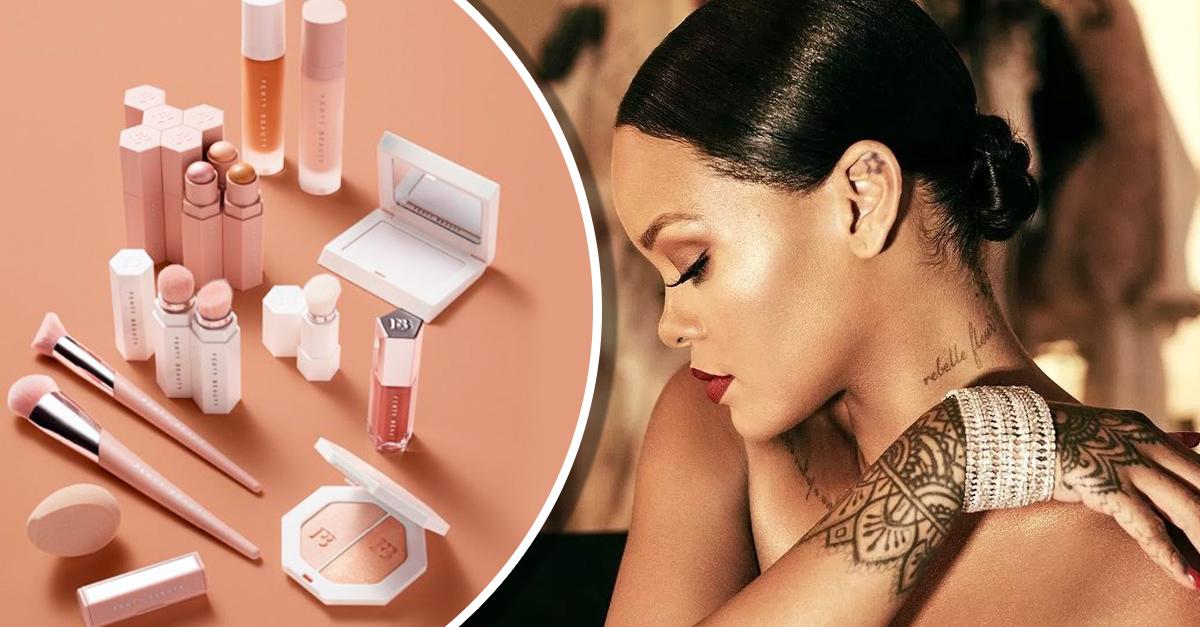 Rihanna acaba de lanzar su línea de maquillaje y tiene todo lo que habíamos soñado