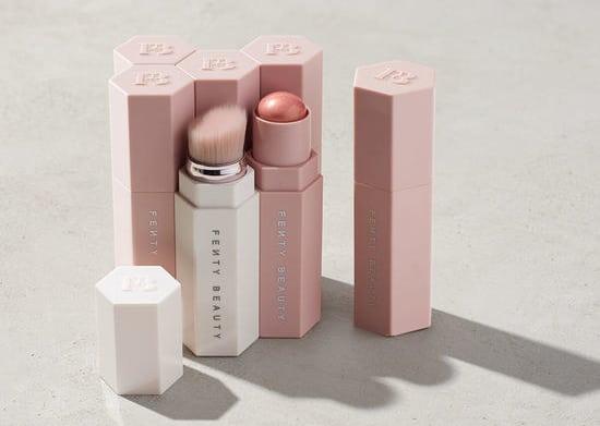 Maquillaje en tono rosa