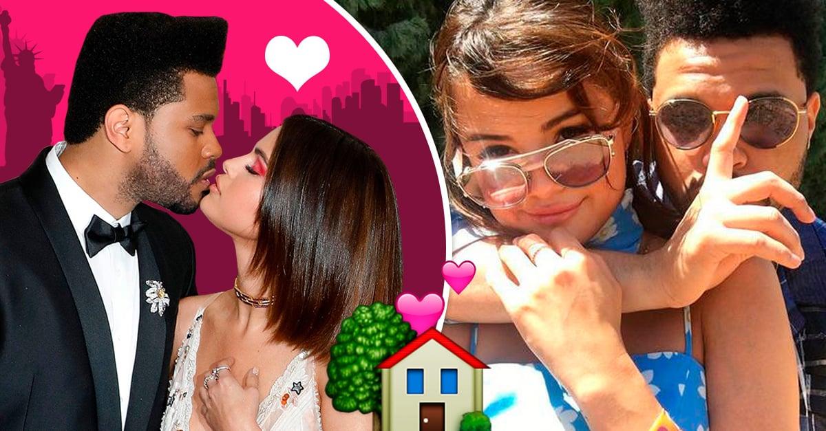 Selena Gomez y The Weeknd decidieron irse a vivir juntos