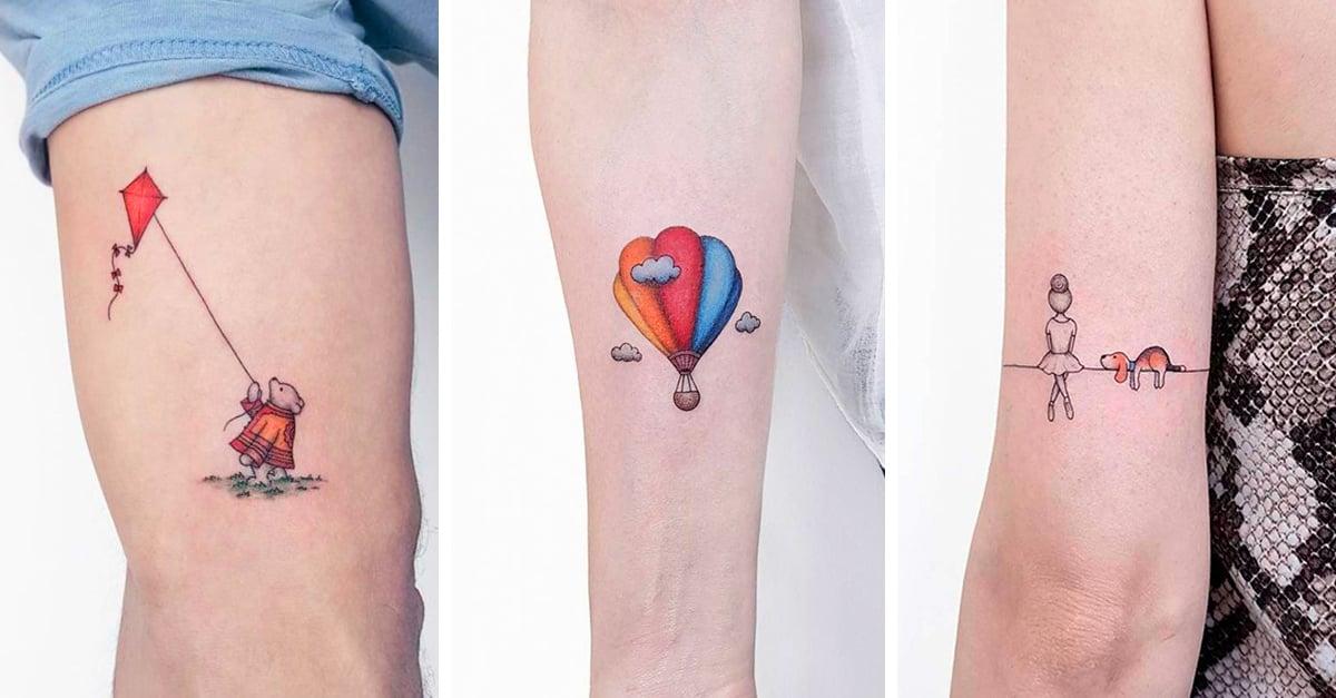 15 Tatuajes creados por el artistaAhmet Cambaz que son perfectos