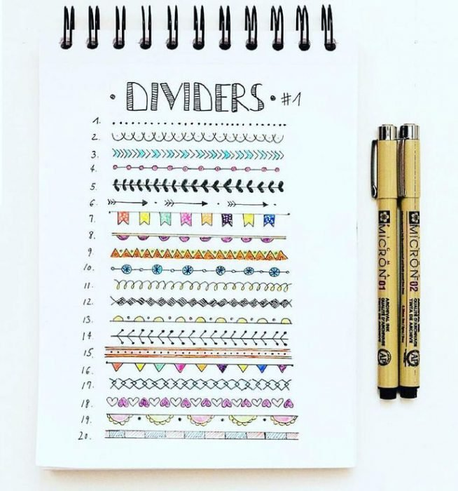 Tips para decorar tus cuadernos