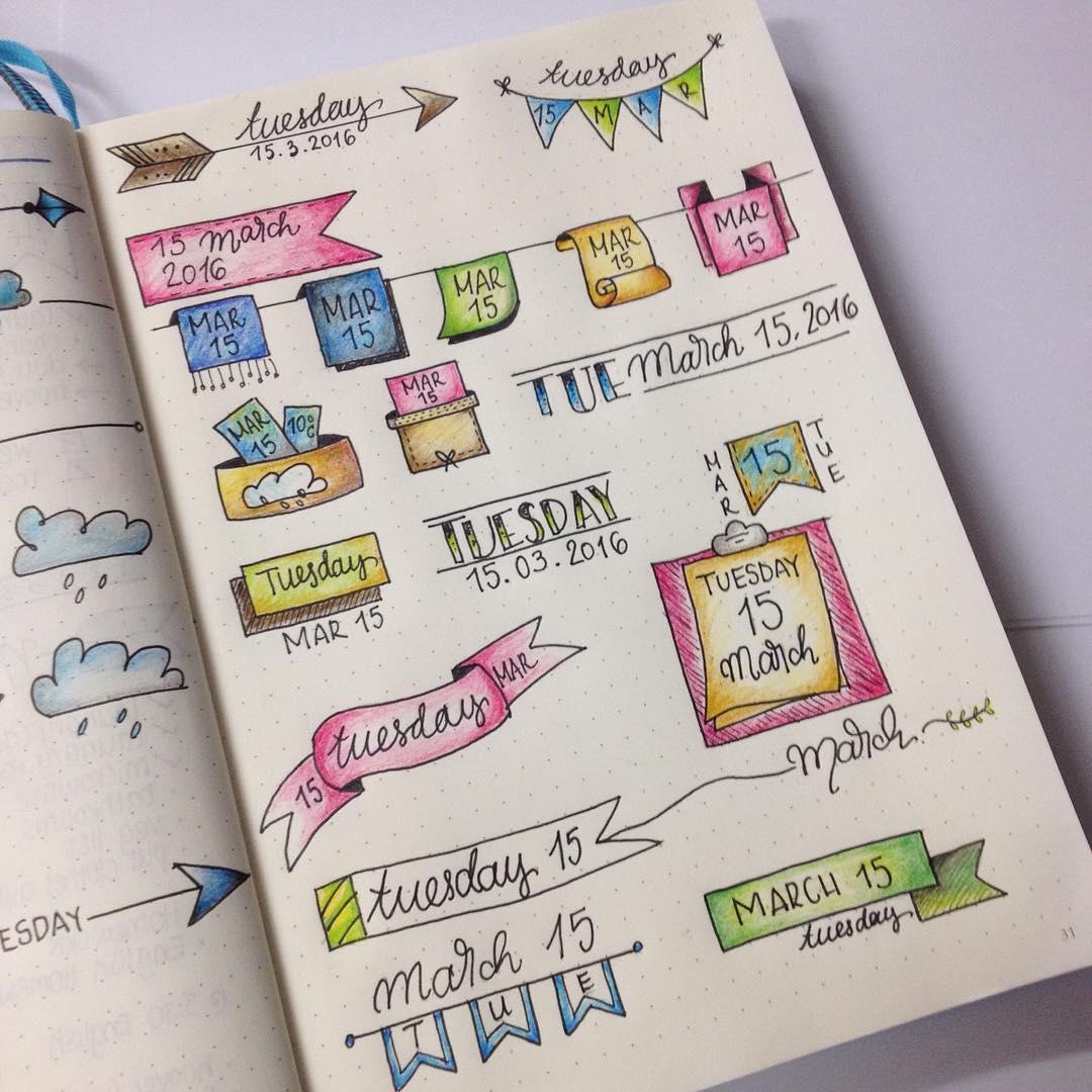 15 ideas para darle color y organizaci n a tus cuadernos - Paginas web de decoracion ...