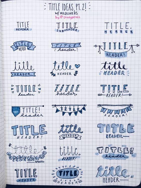 15 Ideas Para Darle Color Y Organización A Tus Cuadernos