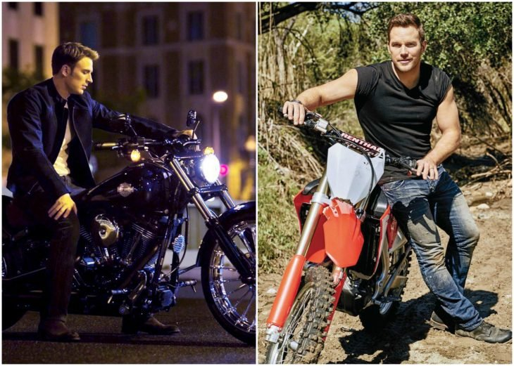 chicos en motocicleta