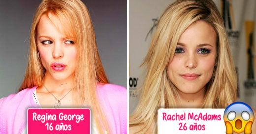 15 Famosos que se transformaron en personajes más jóvenes que ellos