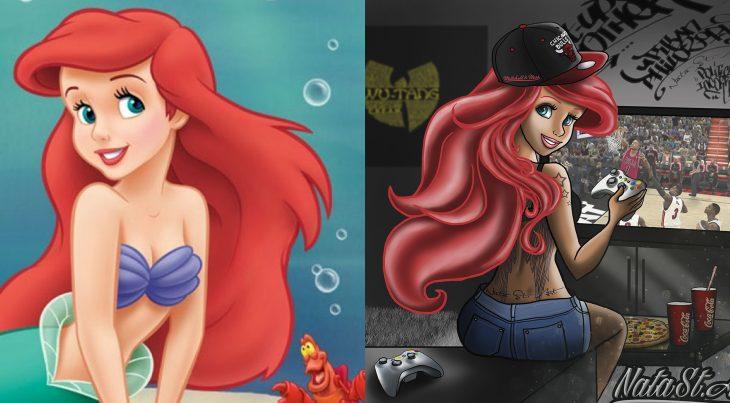 Princesas de Disney en su versión swag