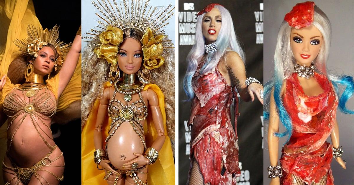 Este artista está convirtiendo a los íconos del pop en muñecas Barbie y el resultado es increíble