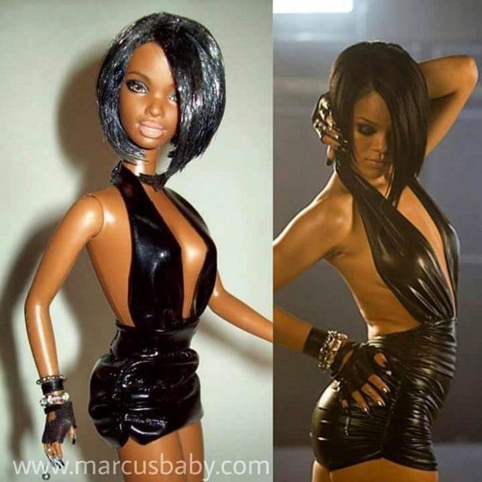 muñeca de Rihanna