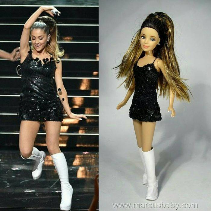 muñeca de Ariana Grande