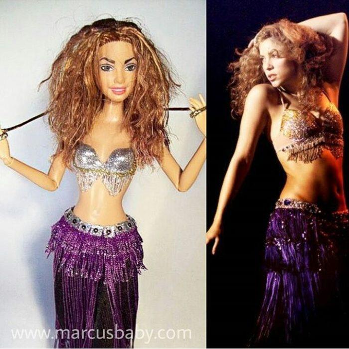 muñeca de Shakira