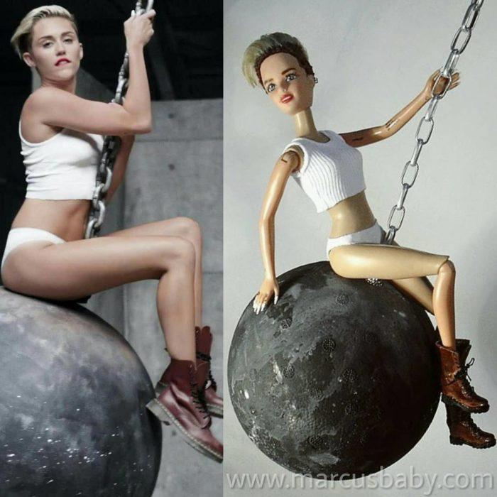 muñeca de Miley cyrus