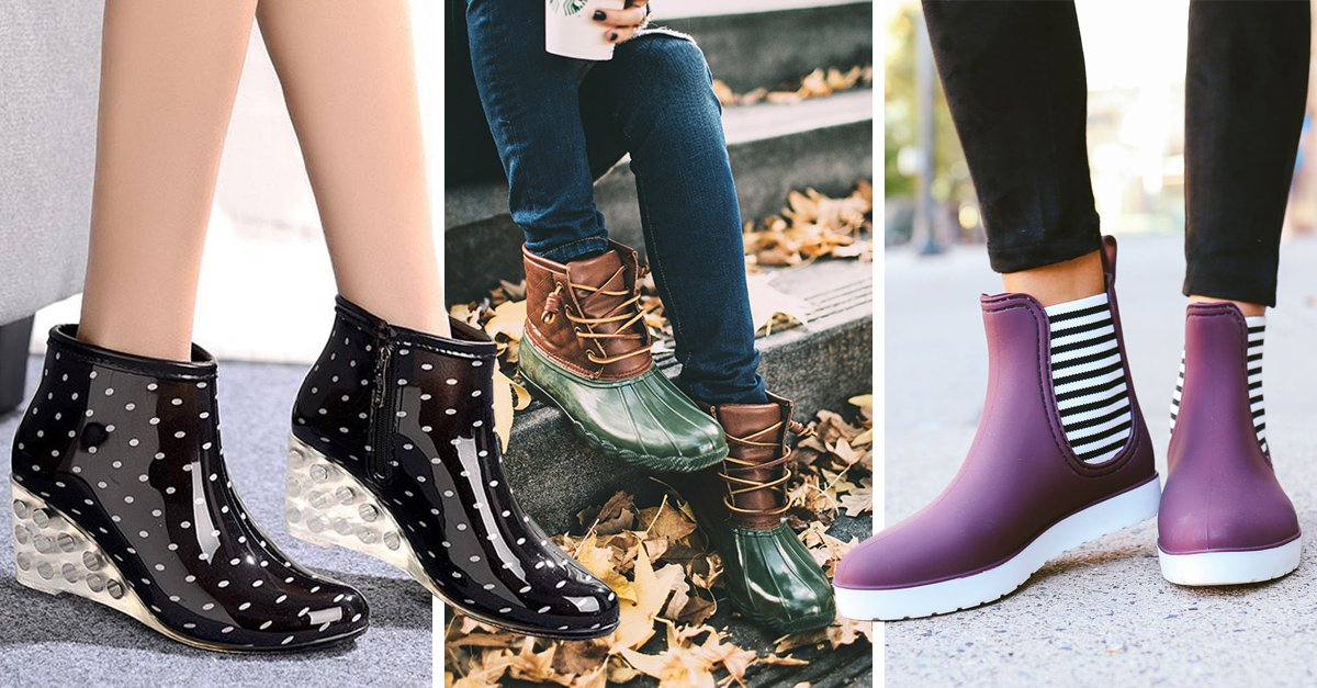 15 Increíbles alternativas para usar botas de lluvia; olvídate de llevar tus zapatos mojados