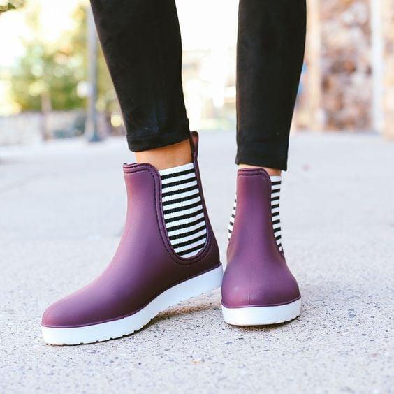 10 estilos de botas para usar en época de lluvia que amarás