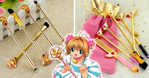 Este set de brochas de Sakura Cardcaptor son todo lo que las fans habían soñado