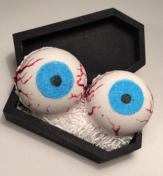 jabón en forma de ojos