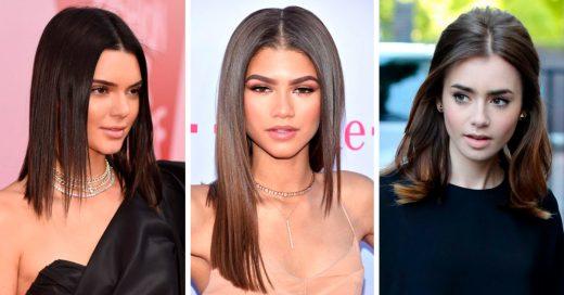 Celebridades que demuestran que el cabello medio es perfecto