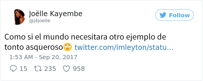 comentario tuit