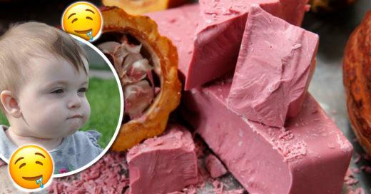 ¡Confirmado! Existe un nuevo chocolate y es color rosa; su sabor a frutos rojos te enamorará