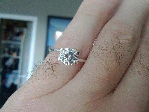 anillo de compromiso para chica