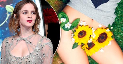 Emma Watson quiere que hablar del vello púbico deje de ser un tabú