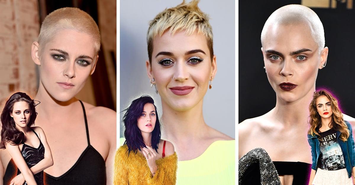 20 Celebridades que se cortaron el cabello de manera drásti