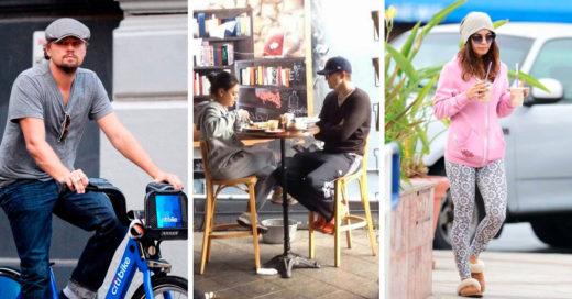 15 Fotos de celebridades haciendo cosas de gente normal