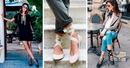 Flats de bailarina que son elegantes y llenas de estilo