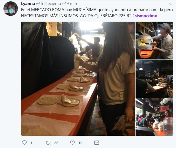 gente en redes sociales sismo ayuda