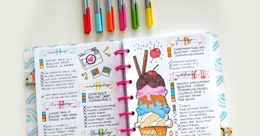 15 ideas para que tus cuadernos luzcan hermosos