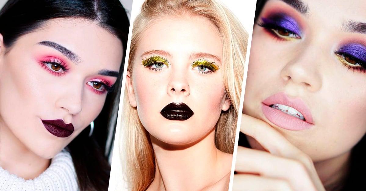 15 Hermosas ideas de maquillaje para tus próximas fiestas