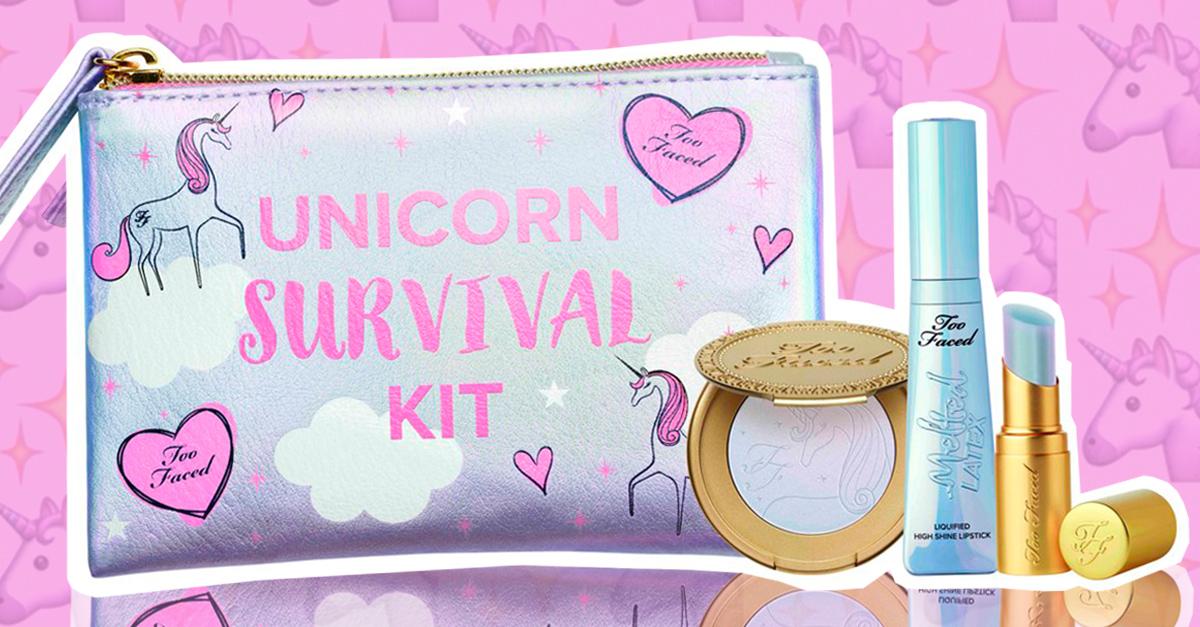 Este kit de maquillaje Unicornio es todo lo que necesitas si amas este ser mitológico