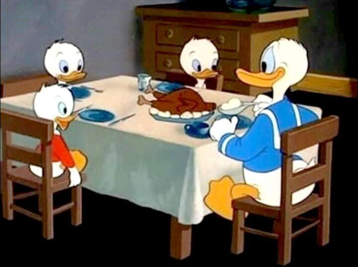 el pato donald y sus sobrinos