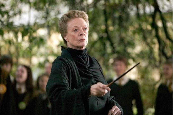 profesora de la saga Harry Potter